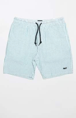 Obey Cypress Striped Drawstring Shorts