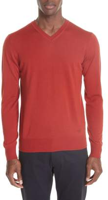 Emporio Armani V-Neck Wool Sweater