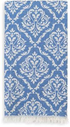 Linum Home Textiles Damask Delight Turkish Pestemal Towel