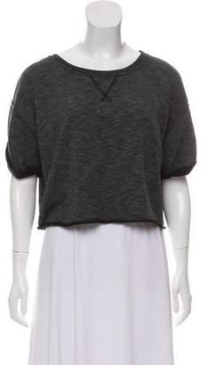 Todd Snyder x Champion Short Sleeve Crop Top