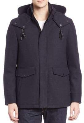 Cole Haan Long Sleeve Waterproof Coat