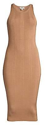 L'Agence Women's Shelby Rib-Knit Bodycon Dress