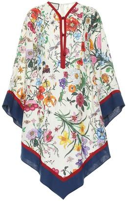 Gucci Floral linen kaftan