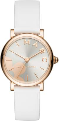 Marc Jacobs Classic Leather Strap Watch, 28mm