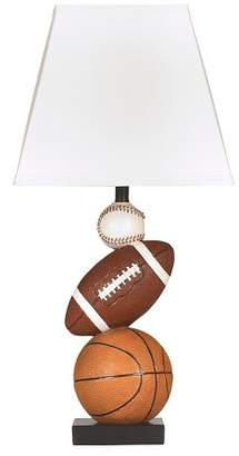 Signature Design by Ashley Nyx Table Lamp Brown/Orange (Lamp Only)