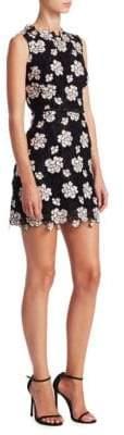 Giambattista Valli Floral Macrame Dress