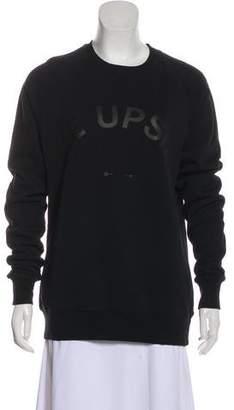 The Upside Graphic Crew Neck Sweatshirt w/ Tags