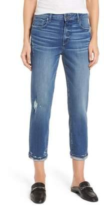 Paige Jimmy Jimmy Transcend Vintage High Waist Crop Boyfriend Jeans