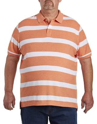 Canyon Ridge Men's Big & Tall Stripe Polo, up to size 7XL
