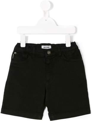 Moschino Kids casual denim shorts