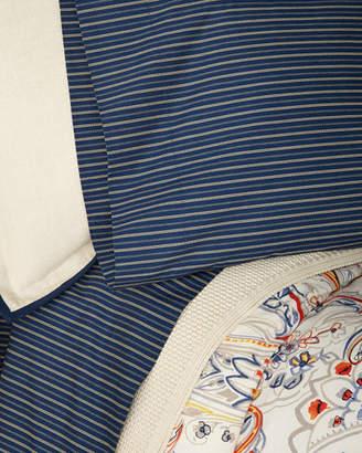 Ralph Lauren Home Wendell Stripe Queen Flat Sheet