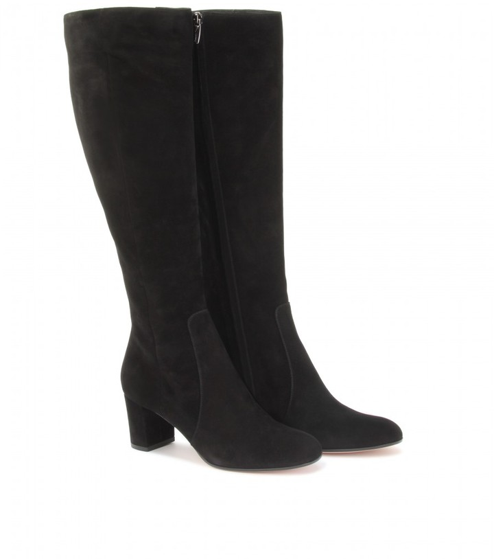 Gianvito Rossi SUEDE LEATHER BOOTS