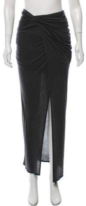 Helmut Lang Draped Maxi SKirt