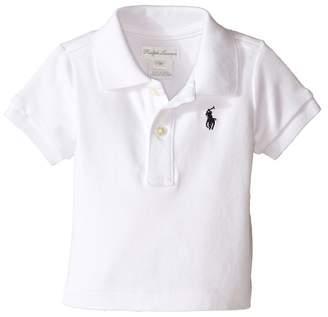 Ralph Lauren Interlock Knit Polo Shirt Boy's Short Sleeve Knit