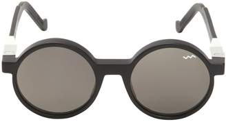 Va Va Iconic Round Acetate Sunglasses