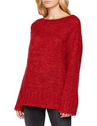 Women's Large red 098ee1i022 630 Jumper Esprit Hwq0dzZ0
