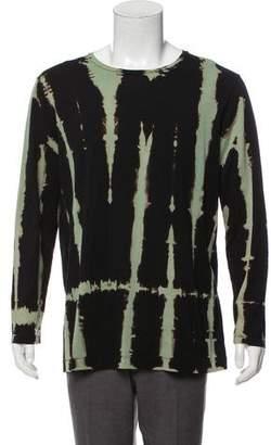 Dries Van Noten Tie-Dye Long Sleeve T-Shirt