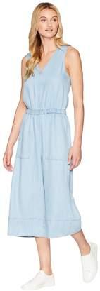 Splendid Linen Slub Indigo Romper Women's Jumpsuit & Rompers One Piece