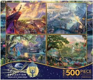 Disney Thomas Kinkade 4-pk. 500-pc. Dreams Puzzles