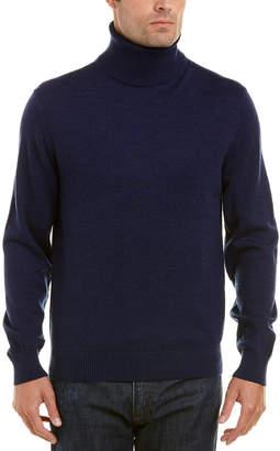 Qi Merino Wool Turtleneck Sweater