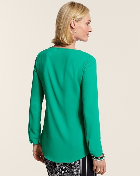 Chico's Tiered Aimee Shirt