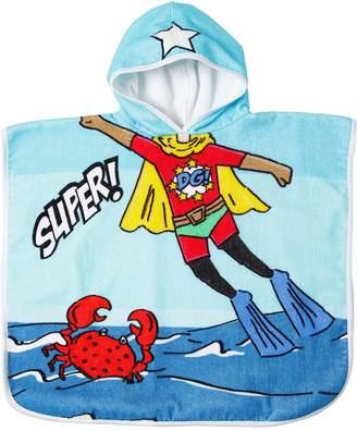 Dolce & Gabbana Superman Hooded Cotton Terrycloth Towel