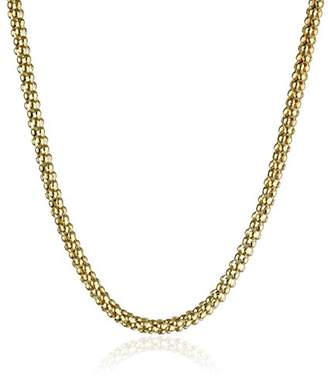 14k Gold Italian 2.50mm Popcorn-Chain Necklace