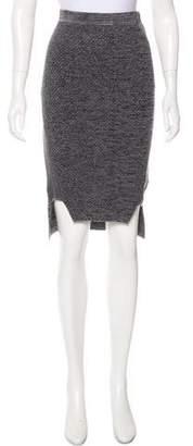 Jonathan Simkhai Patterned Knee-Length Skirt
