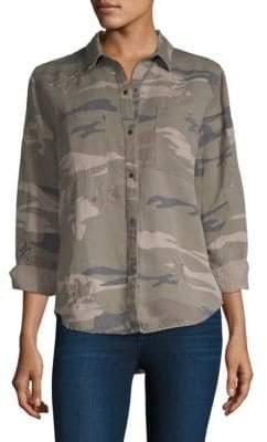 Rails Marcel Patch Camo Shirt