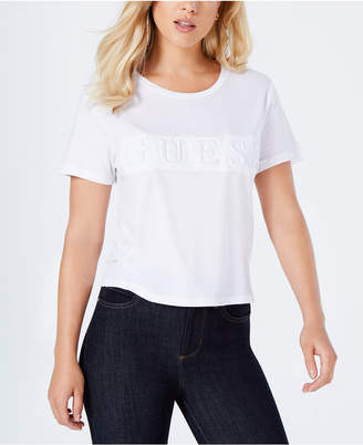 GUESS Cropped Logo Top