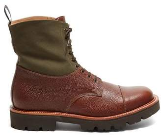 Todd Snyder Grenson Shoes Grenson + Exclusive Multi Canvas Boot