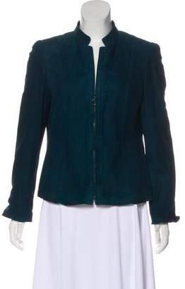 Akris Punto Suede Structured Jackets