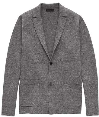 Banana Republic Organic Cotton Sweater Blazer