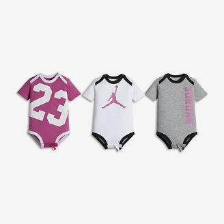 Jordan 23 Creeper Three-Piece Infant Bodysuit Set $30 thestylecure.com
