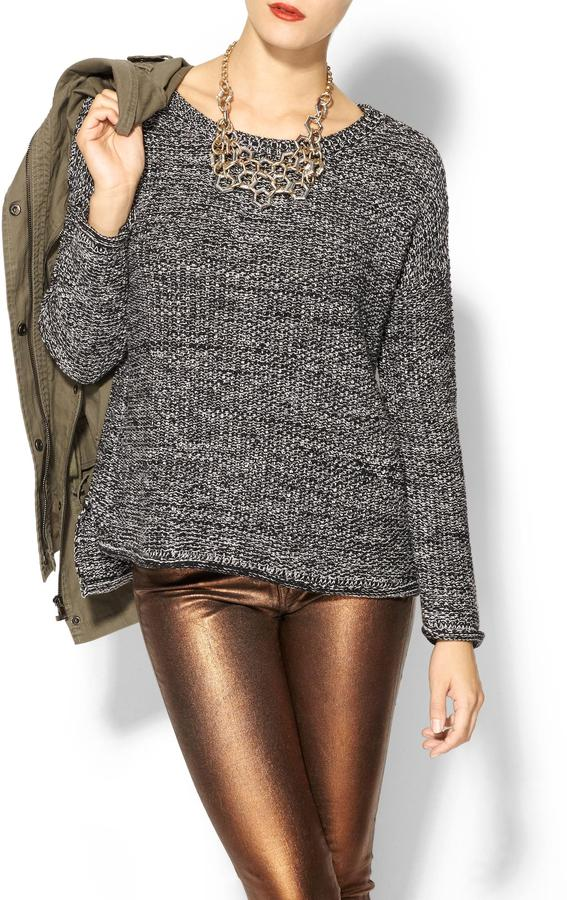 Sanctuary Marled Easy Sweater
