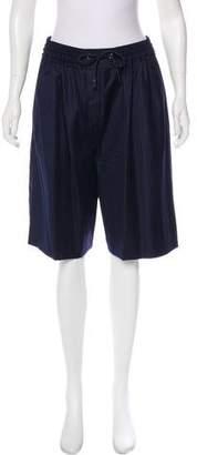 Sonia Rykiel Wool Knee-Length Shorts