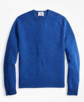 Brooks Brothers Limited-Edition Braemar Shetland Lambswool Crewneck Sweater