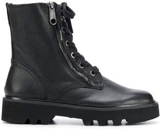 Calvin Klein Jeans military boots