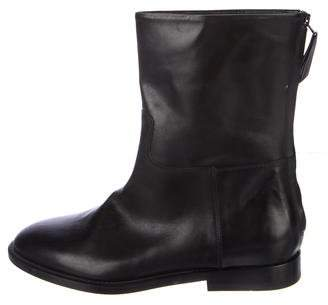 Jenni Kayne Leather Round-Toe Ankle Boots