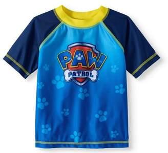 Trunks Paw Patrol Toddler Boys' Rashguard Swim Top