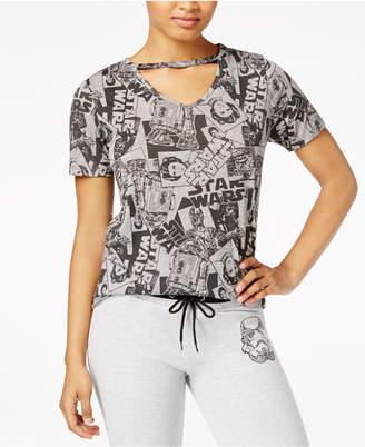 Star Wars Juniors' Printed Choker T-Shirt