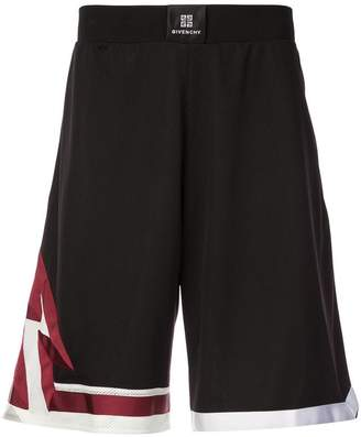 Givenchy elasticated waist shorts