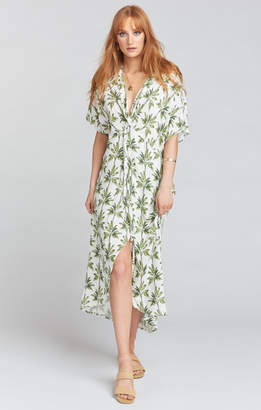 Show Me Your Mumu Get Twisted Maxi Dress ~ Walk the Palm Cruise