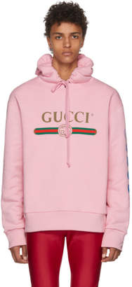 Gucci Pink Dragon Hoodie