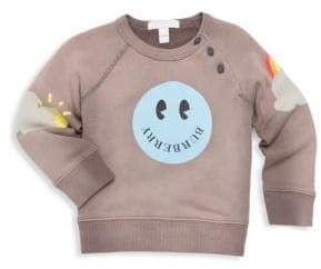 Burberry Baby Girl's& Little Girl's Smiley Crewneck Sweater
