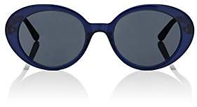 Oliver Peoples The Row Women's Parquet Sunglasses-Blue