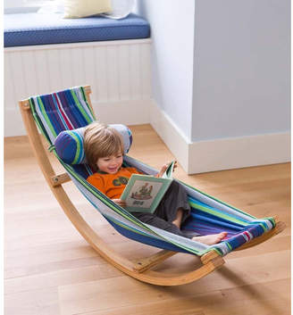 Magic Cabin Rocking Cotton Hammock with Stand