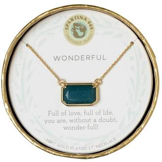 "Spartina 449 ""Wonderful"" Jade Necklace"