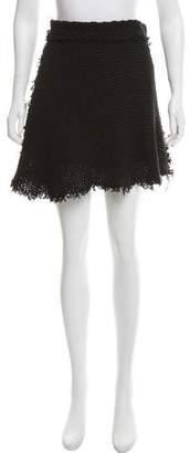 IRO Crochet Mini Skirt