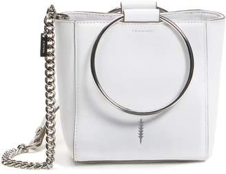 THACKER Mini Le Bucket Leather Ring Handle Bag